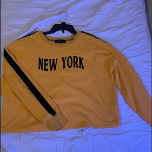 Yellow long sleeve NY T-Shirt